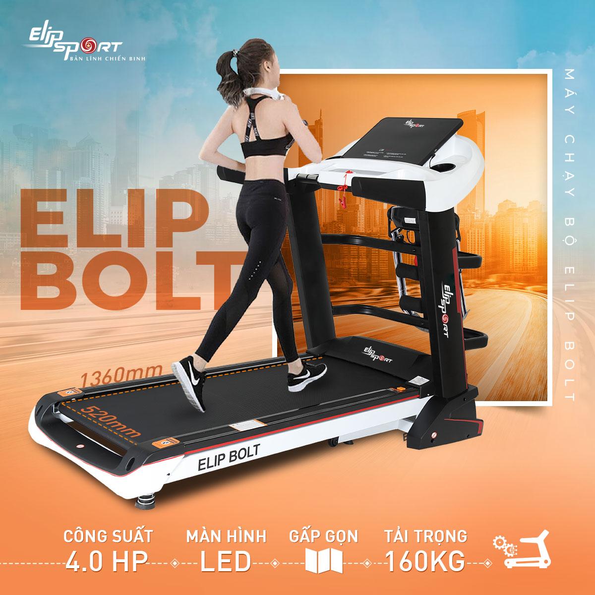 Máy chạy bộ điện đa năng ELIP Bolt