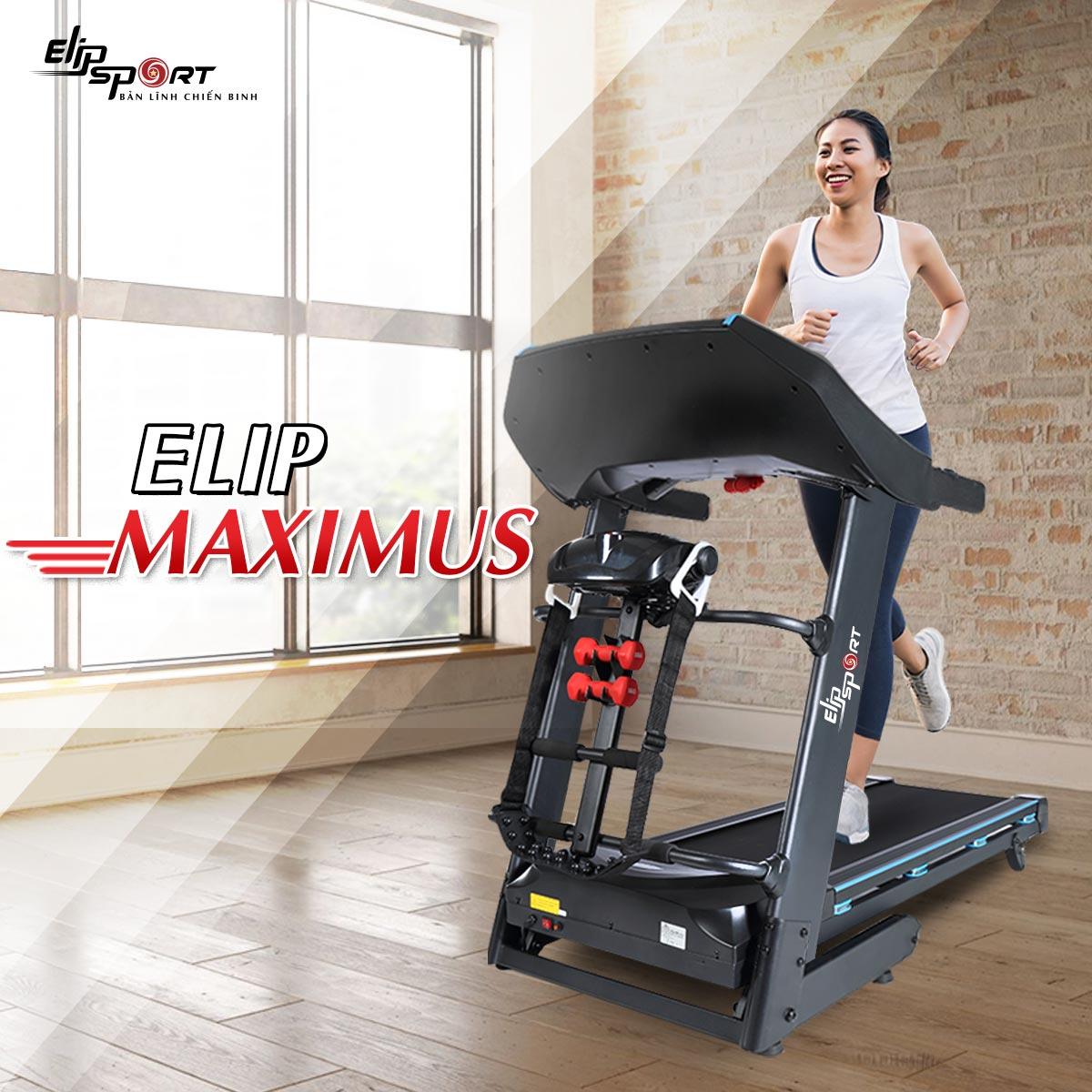 Máy chạy bộ điện đa năng ELIP Maximus