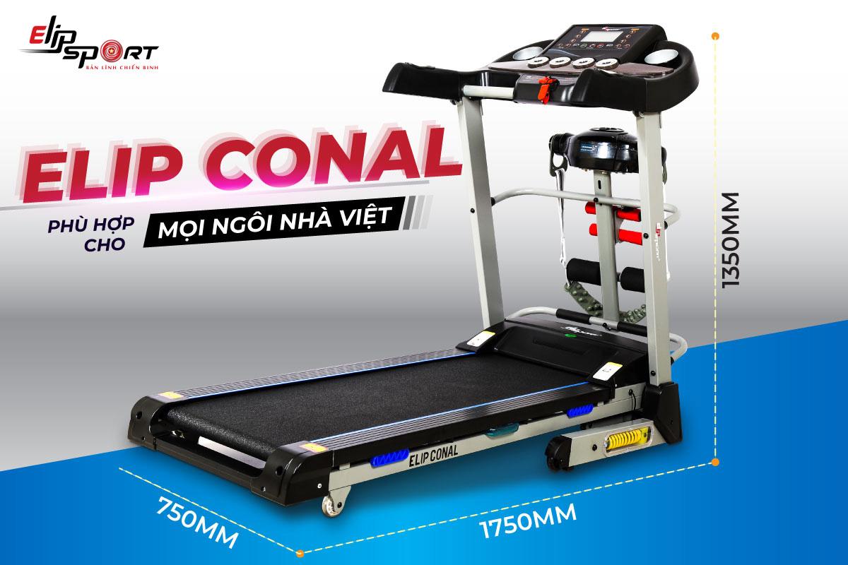 máy chạy bộ đa năng ELIP Conal