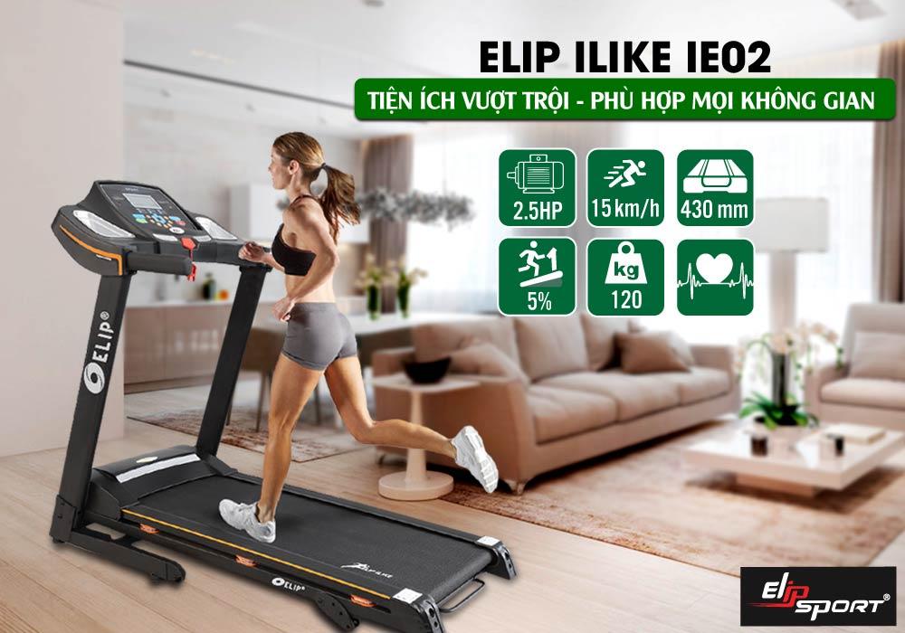Máy Chạy Bộ Điện Elip iLike iE02