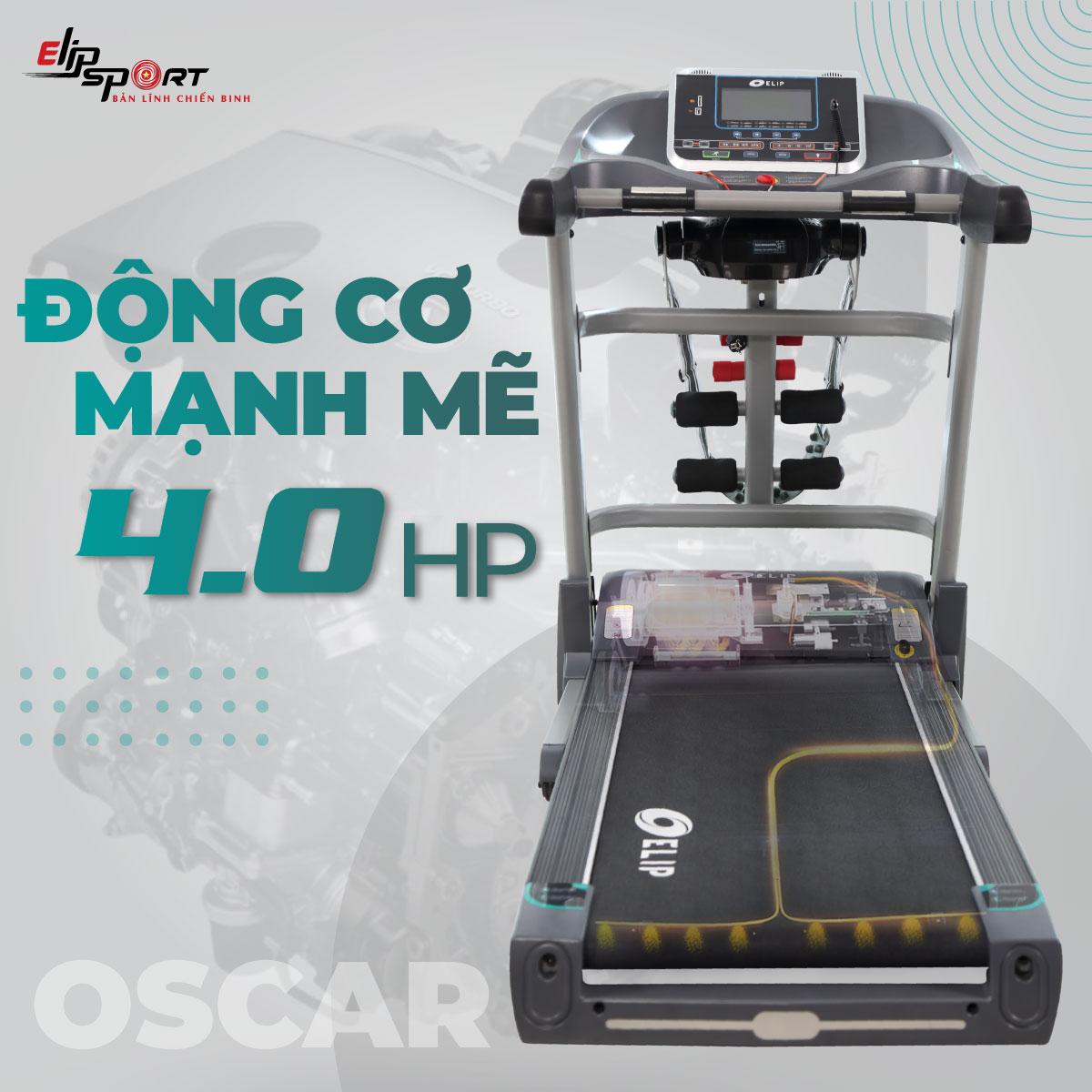Máy Chạy Bộ Điện Đa Năng ELIP Oscar