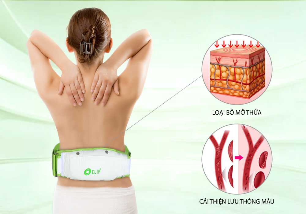 Đai massage bụng Elip Eva - ảnh 1