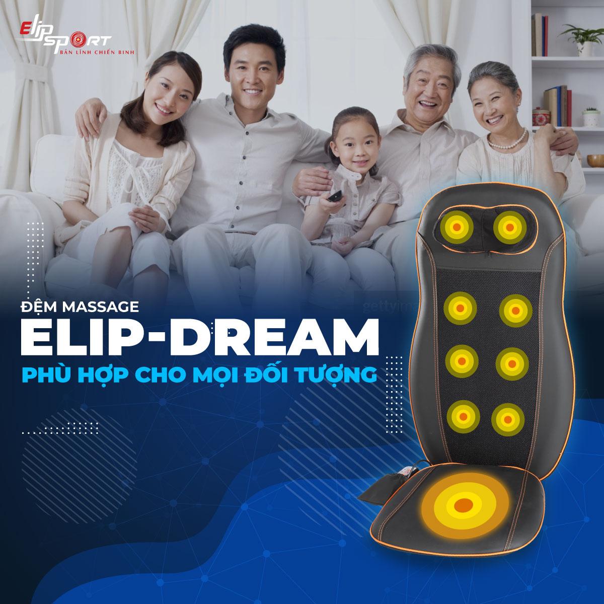 Đệm Massage ELIP - Dream Đa Năng