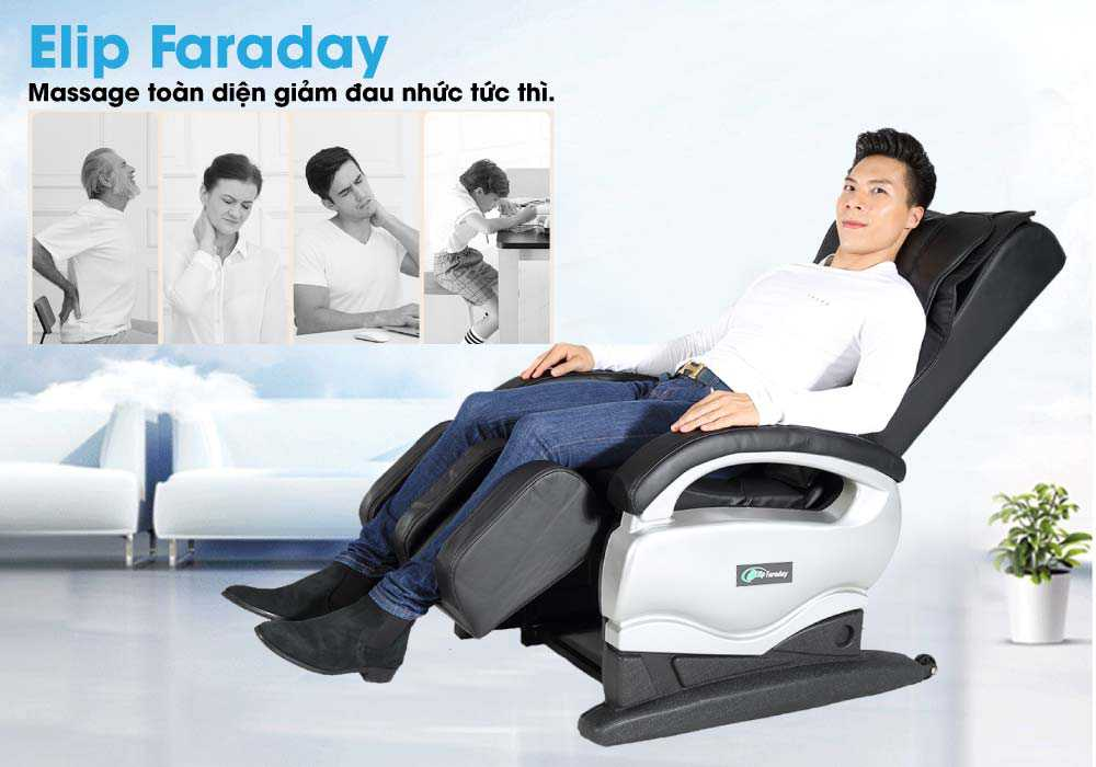 Ghe massage Elip Faraday giam dau nhut