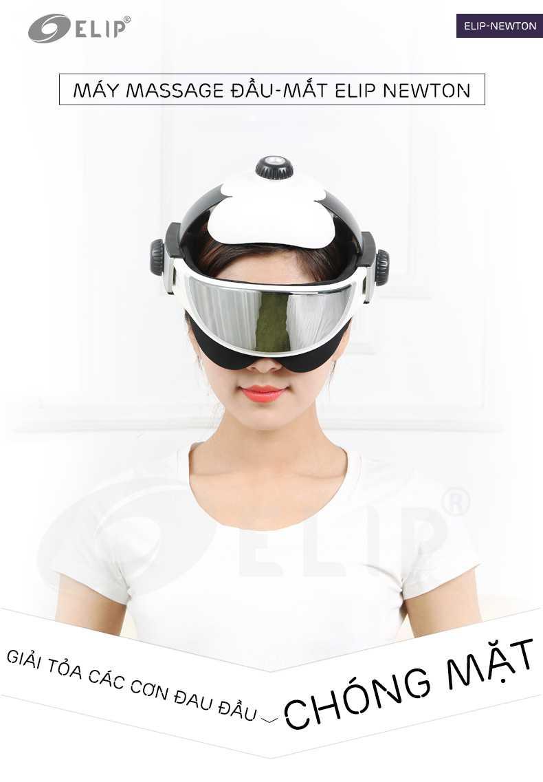 Máy massage đầu-mắt Elip Newton - ảnh 1
