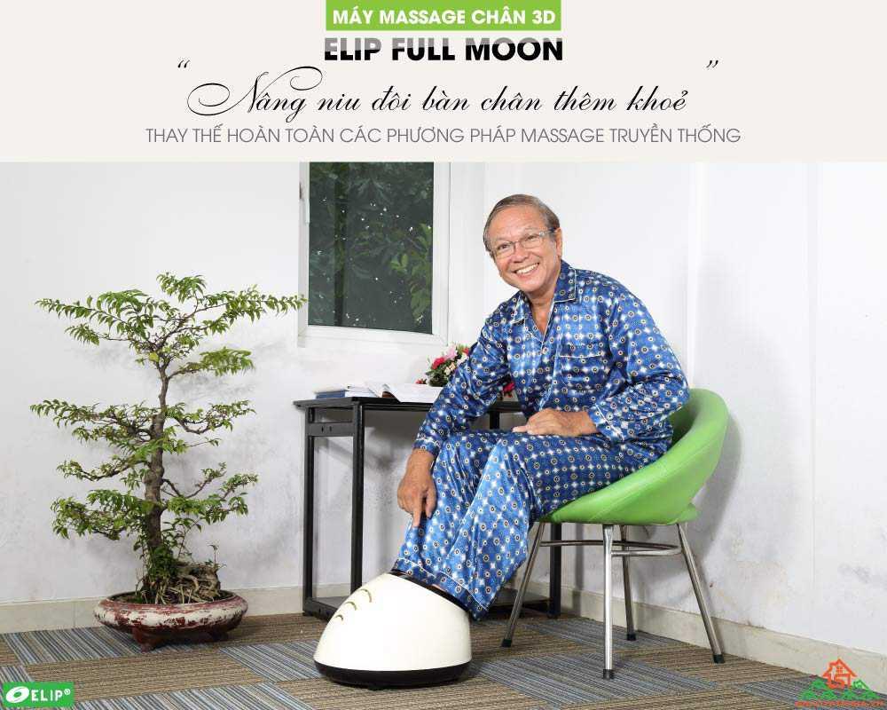 Máy massage chân 3D ELIP Full Moon