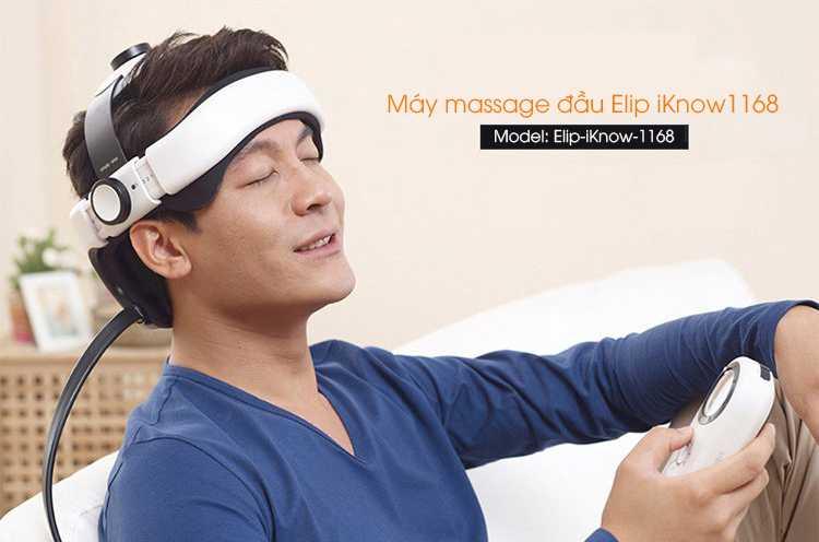 Máy Massage Đầu ELIP iKnow1168 - Elipsport.vn