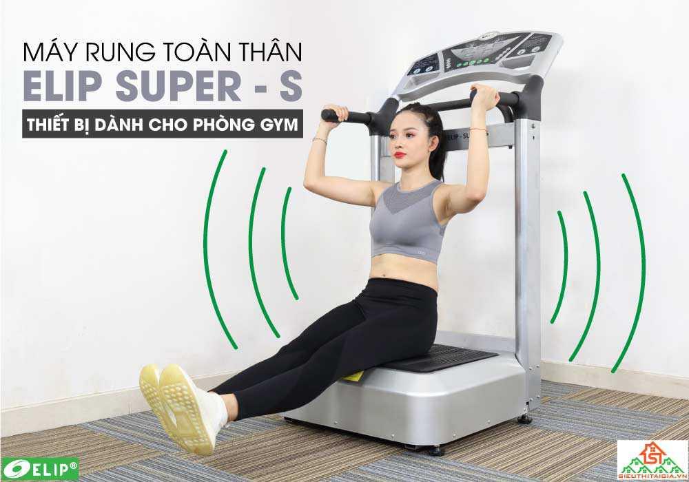 Máy rung gym ELIP-Super-S