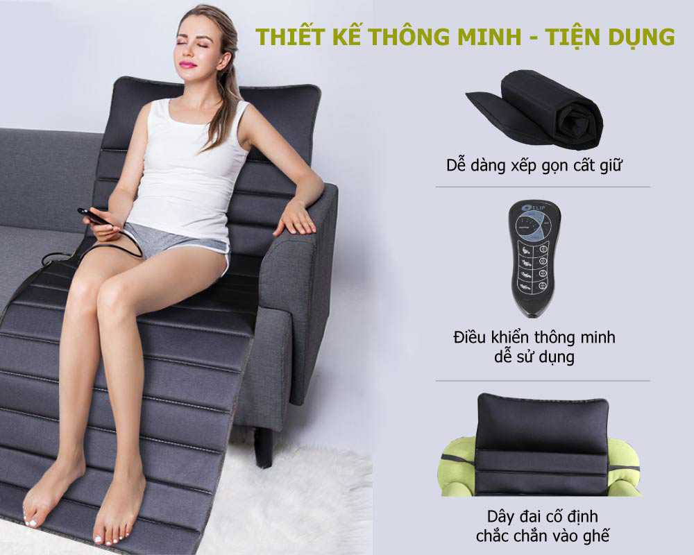 Nệm massage Elip Family