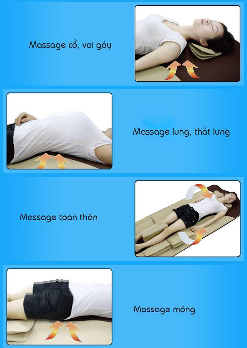 Nệm Massage ELIP Spa - Elipsport.vn