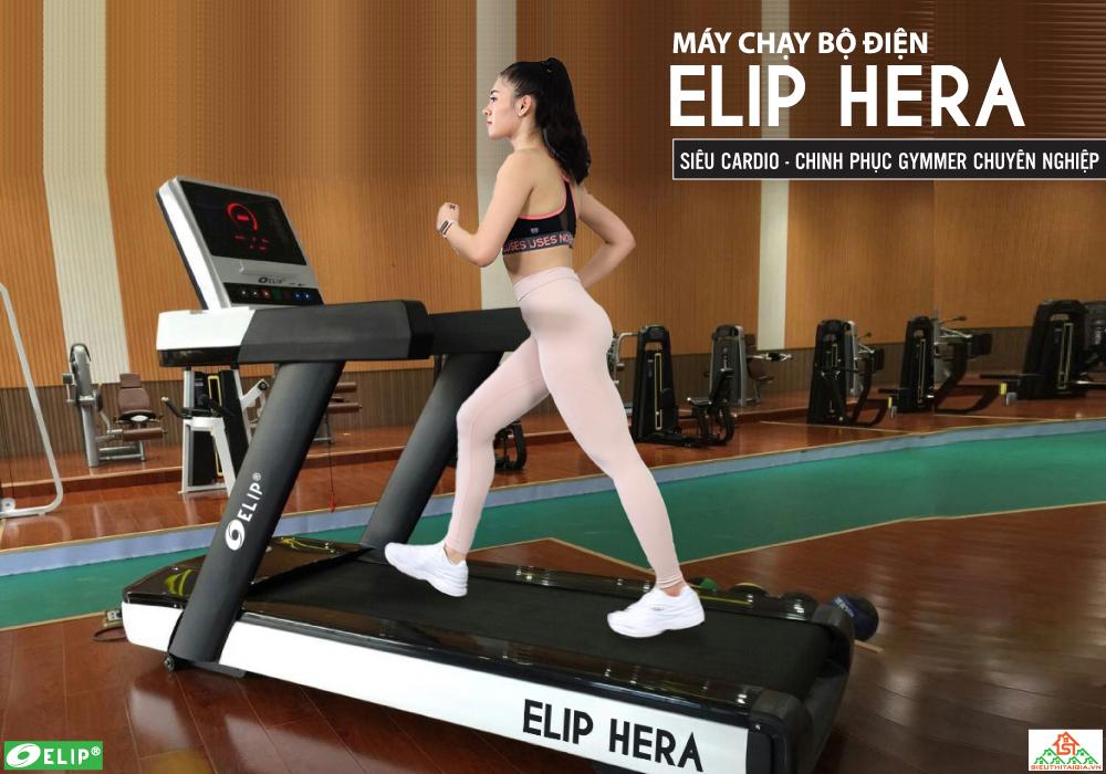 Máy Chạy Bộ Gym ELIP Hera Đơn Năng