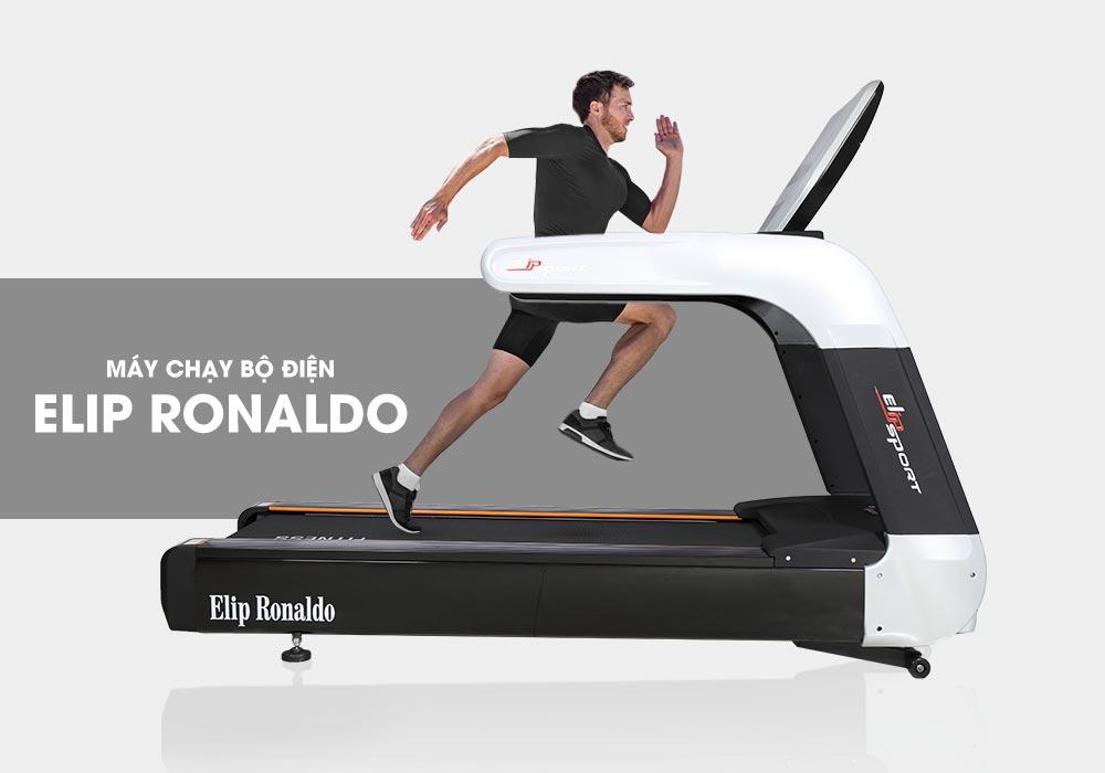 Máy chạy bộ điện Elip Ronaldo
