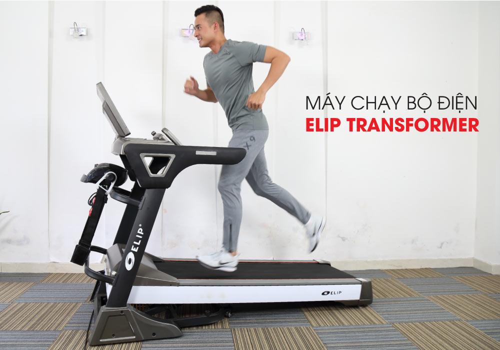 Máy chạy bộ điện đa năng ELIP Transformer - ảnh 1