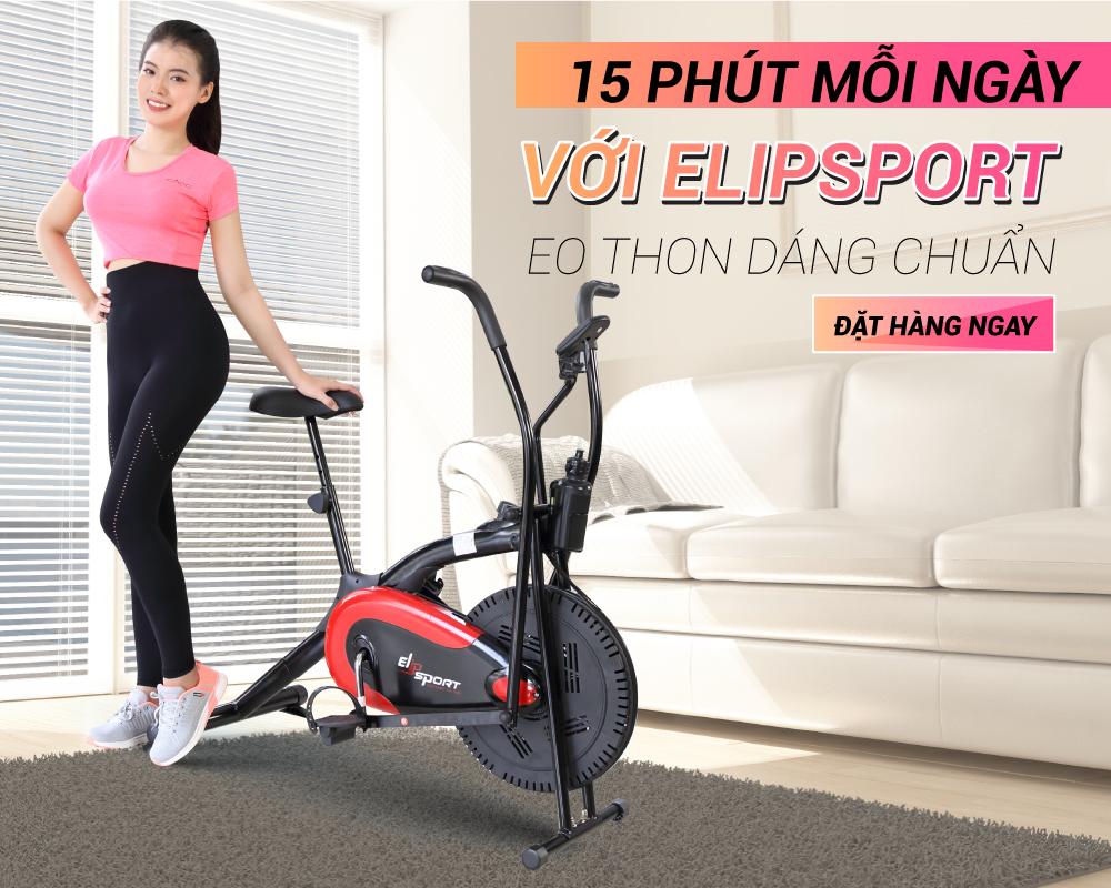 Xe Đạp Tập ELIP Sport  - ảnh 1