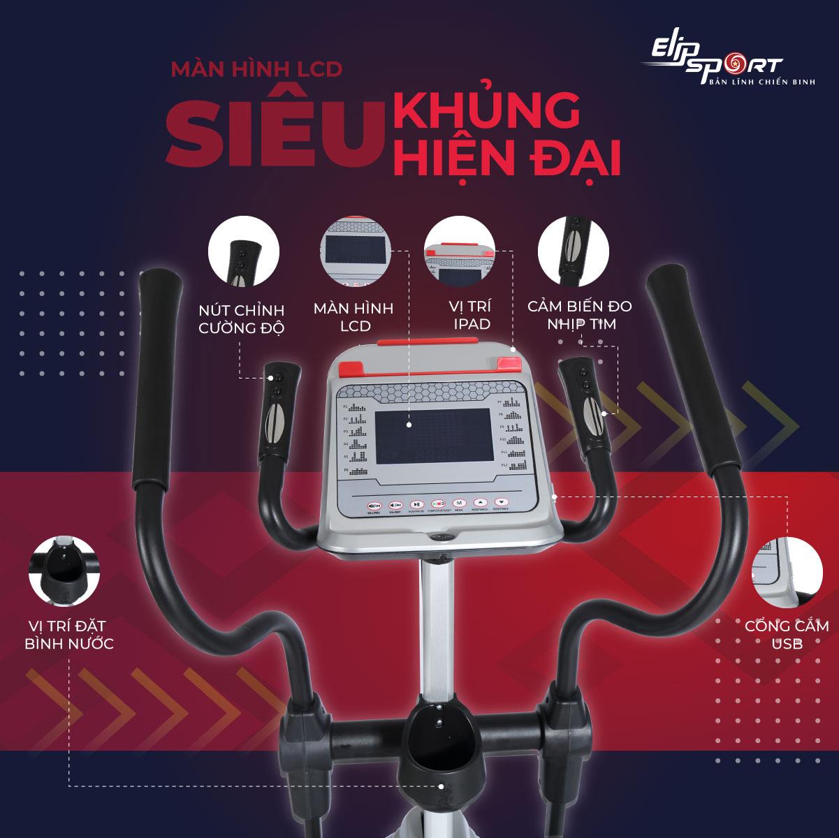 Xe đạp tập ELIP Everest