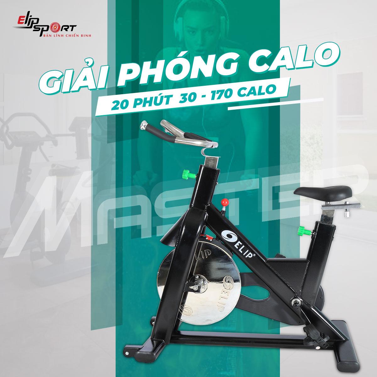 Xe đạp tập Gym ELIP Master