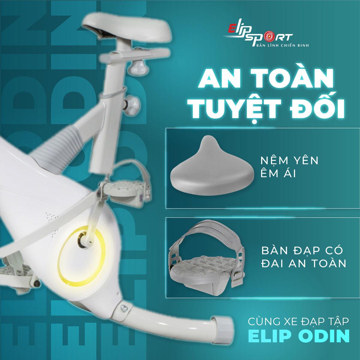 Xe đạp tập ELIP Odin