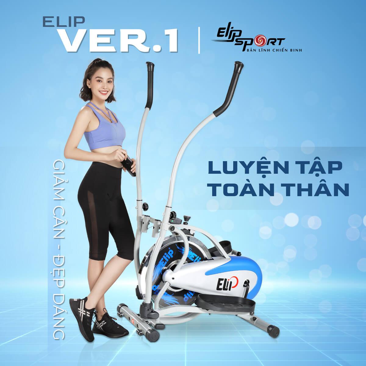 xe đạp tập ELIP ver 1
