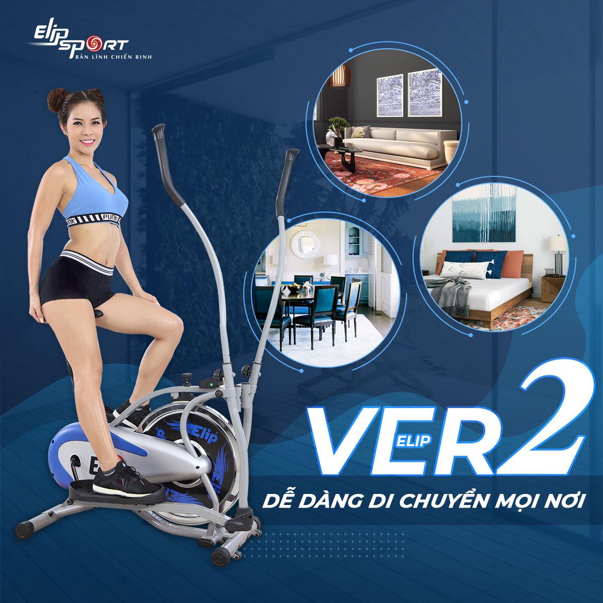 xe đạp tập ELIP Ver2