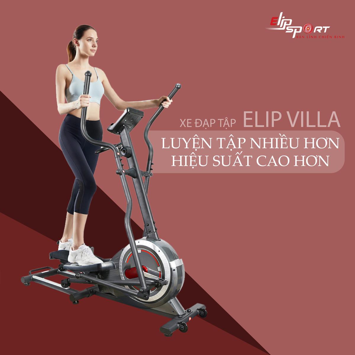 Xe đạp tập ELIP Villa