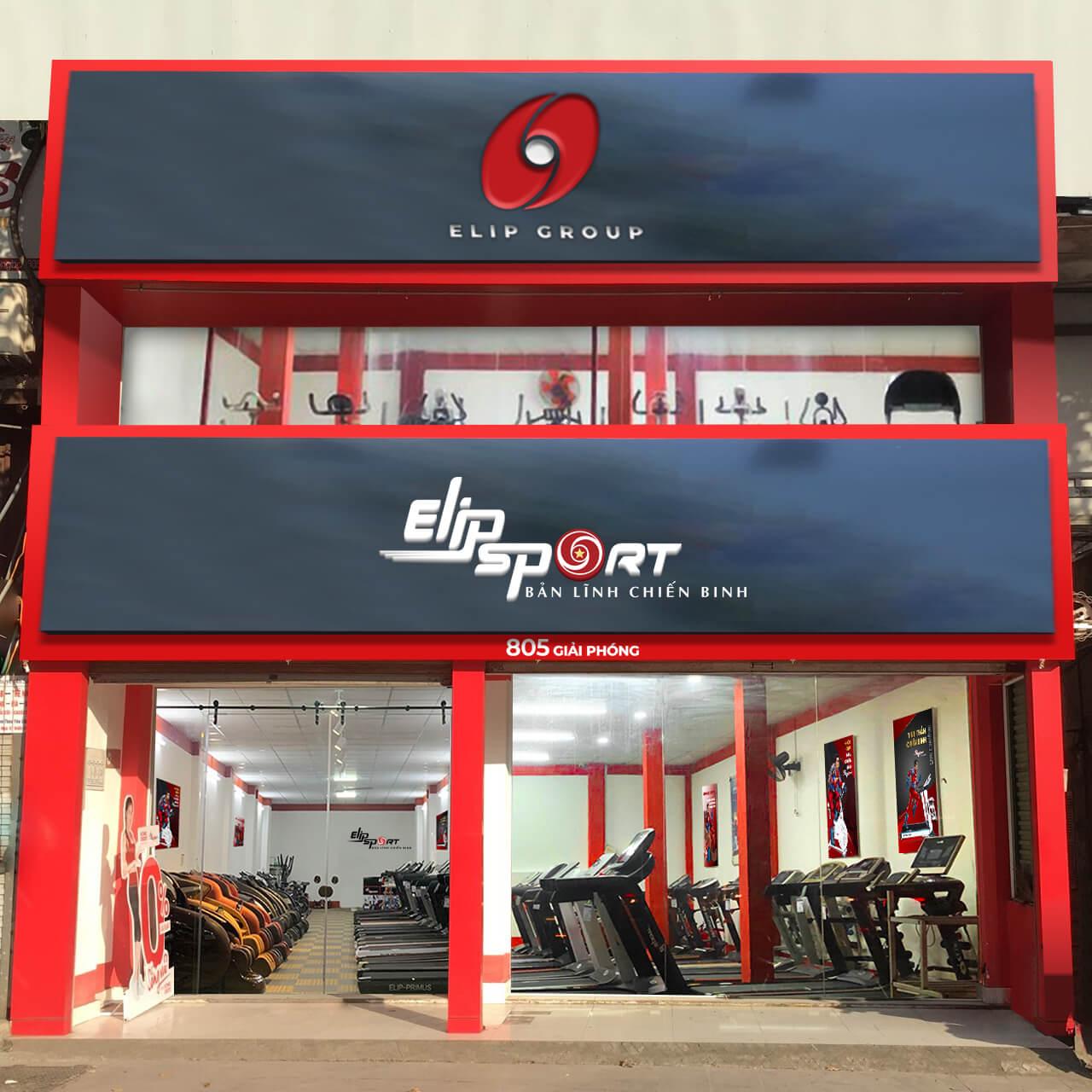 Hình ảnh của chi nhánh Elipsport Hoàng Mai - Hà Nội