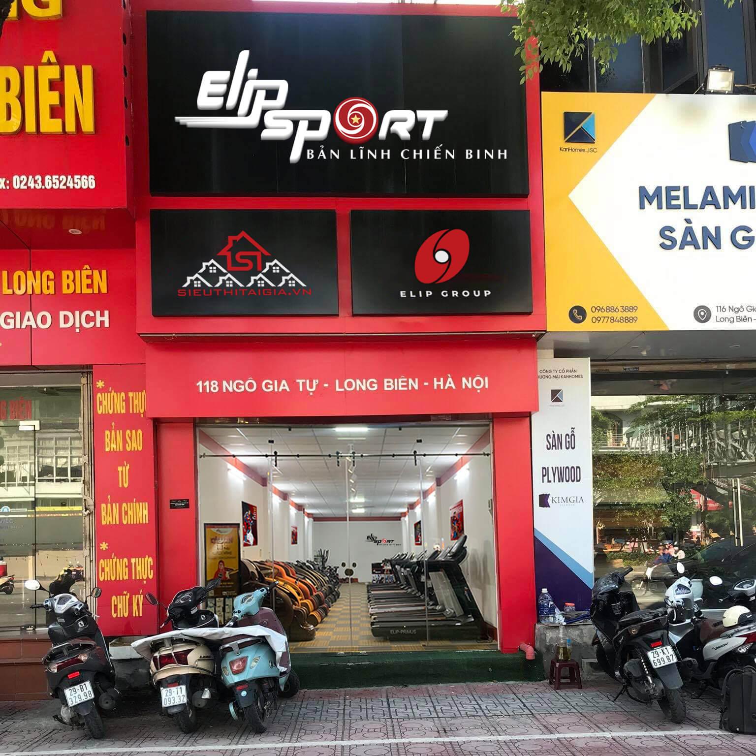 Hình ảnh của chi nhánh Elipsport Long Biên - Hà Nội