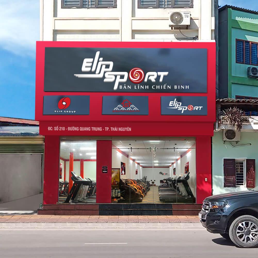 Hình ảnh của chi nhánh Elipsport Thái Nguyên