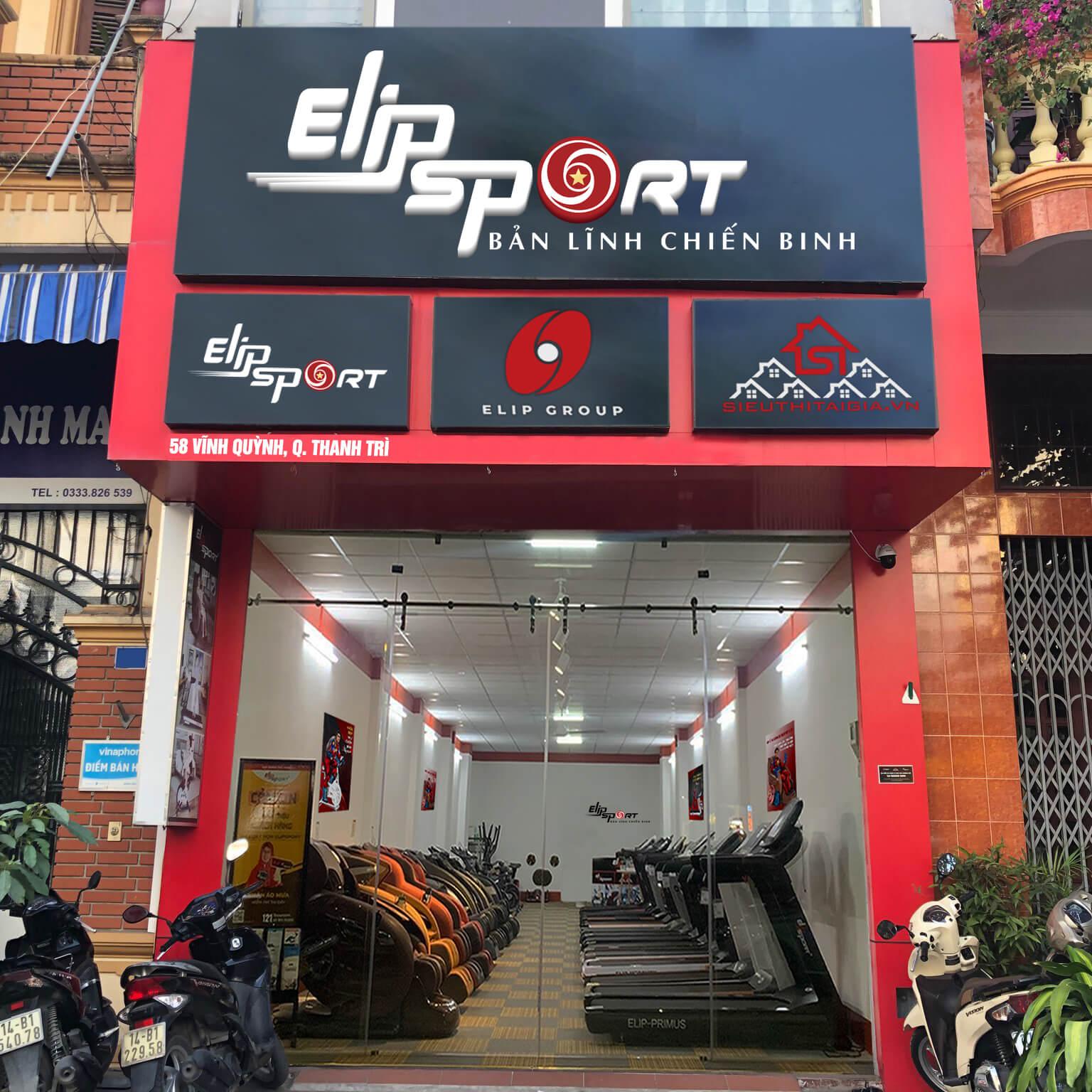 Hình ảnh của chi nhánh Elipsport Thanh Trì - Hà Nội
