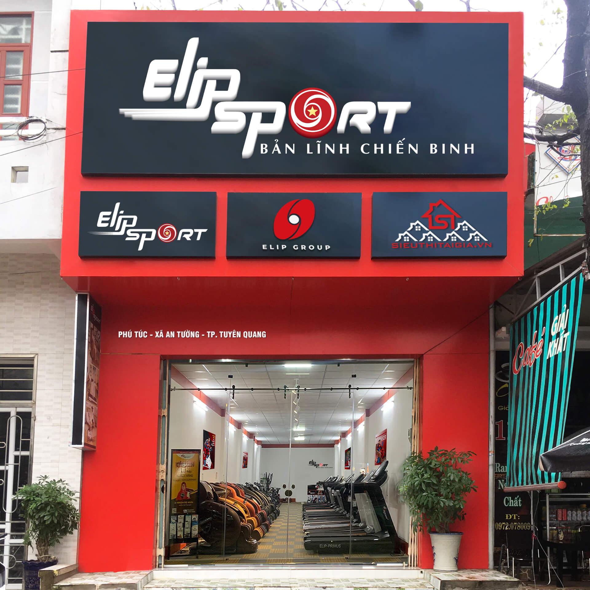 Hình ảnh của chi nhánh Elipsport Tuyên Quang