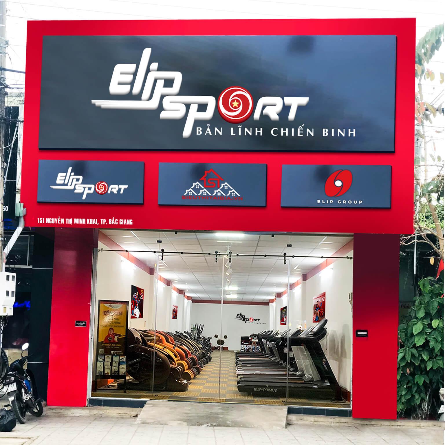 Hình ảnh của chi nhánh Elipsport Bắc Giang
