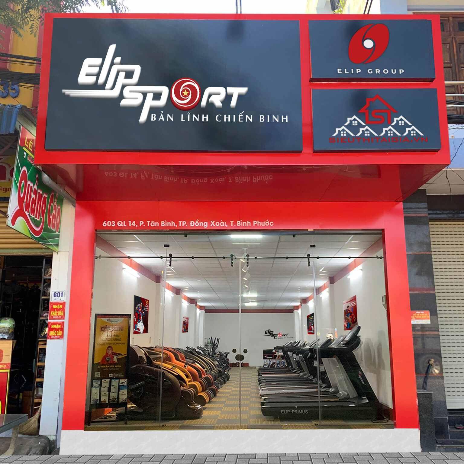 Hình ảnh của chi nhánh Elipsport Bình Phước