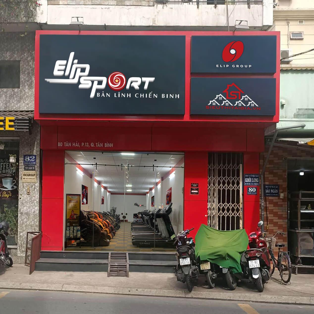 Hình ảnh của chi nhánh  Elipsport Tân Bình - HCM