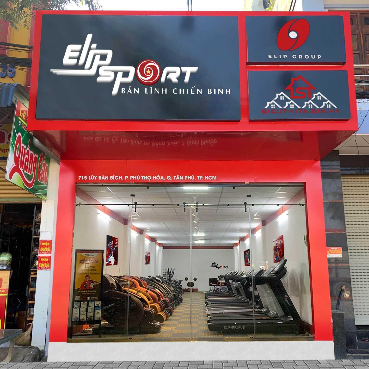 Hình ảnh của chi nhánh Elipsport Tân Phú - HCM
