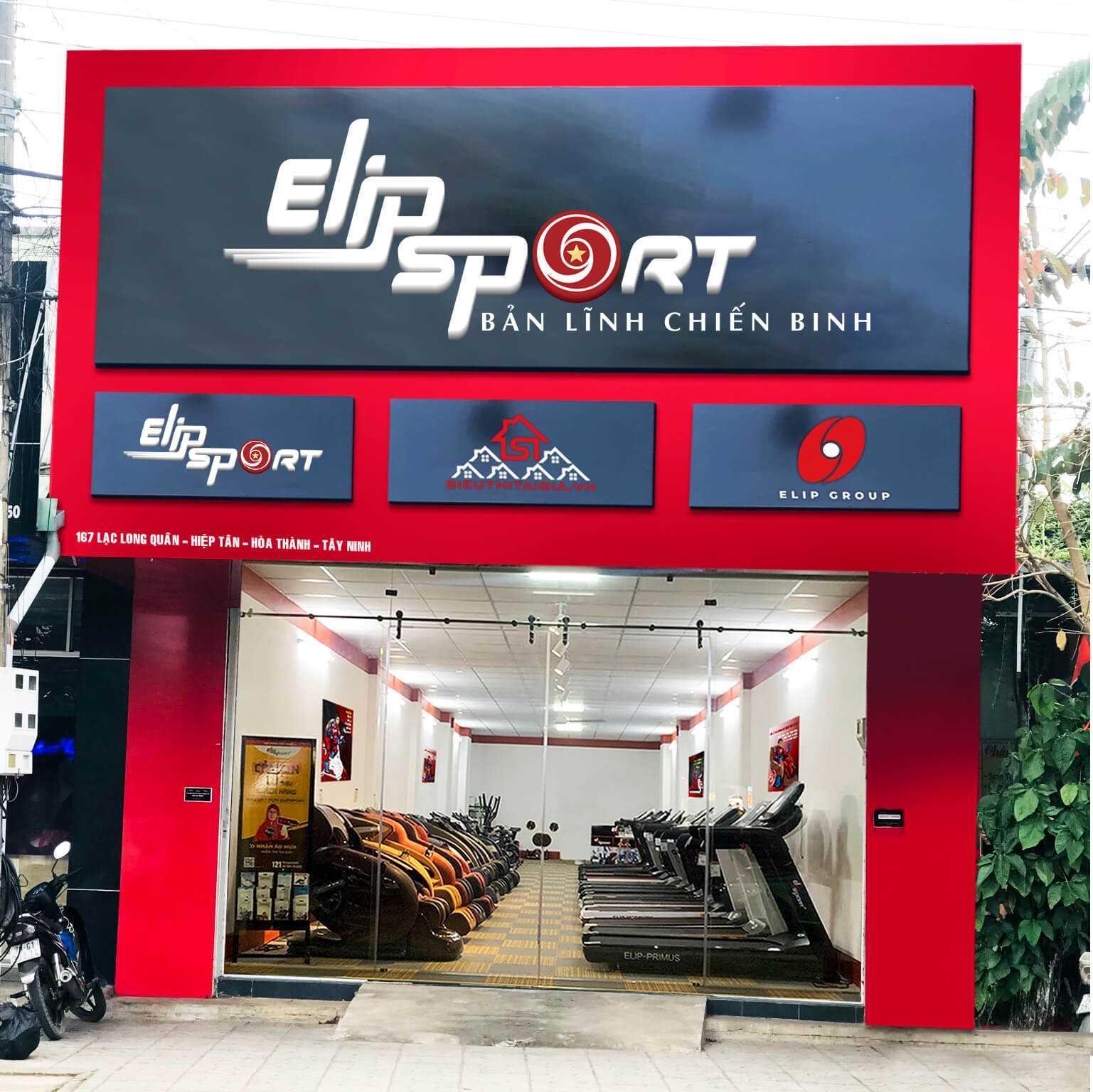 Hình ảnh của chi nhánh Elipsport Tây Ninh