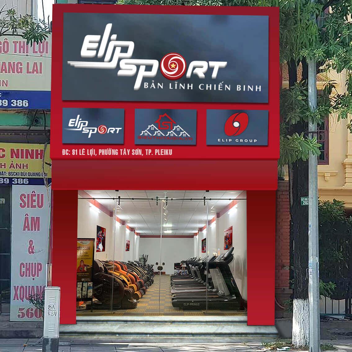 Hình ảnh của chi nhánh Elipsport Gia Lai