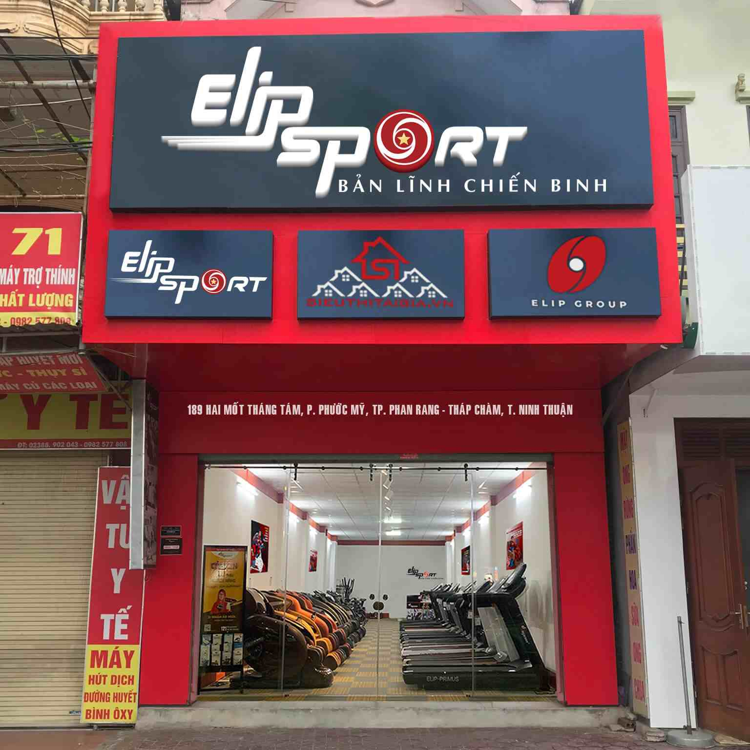 Chi nhánh Elipsport Ninh Thuận