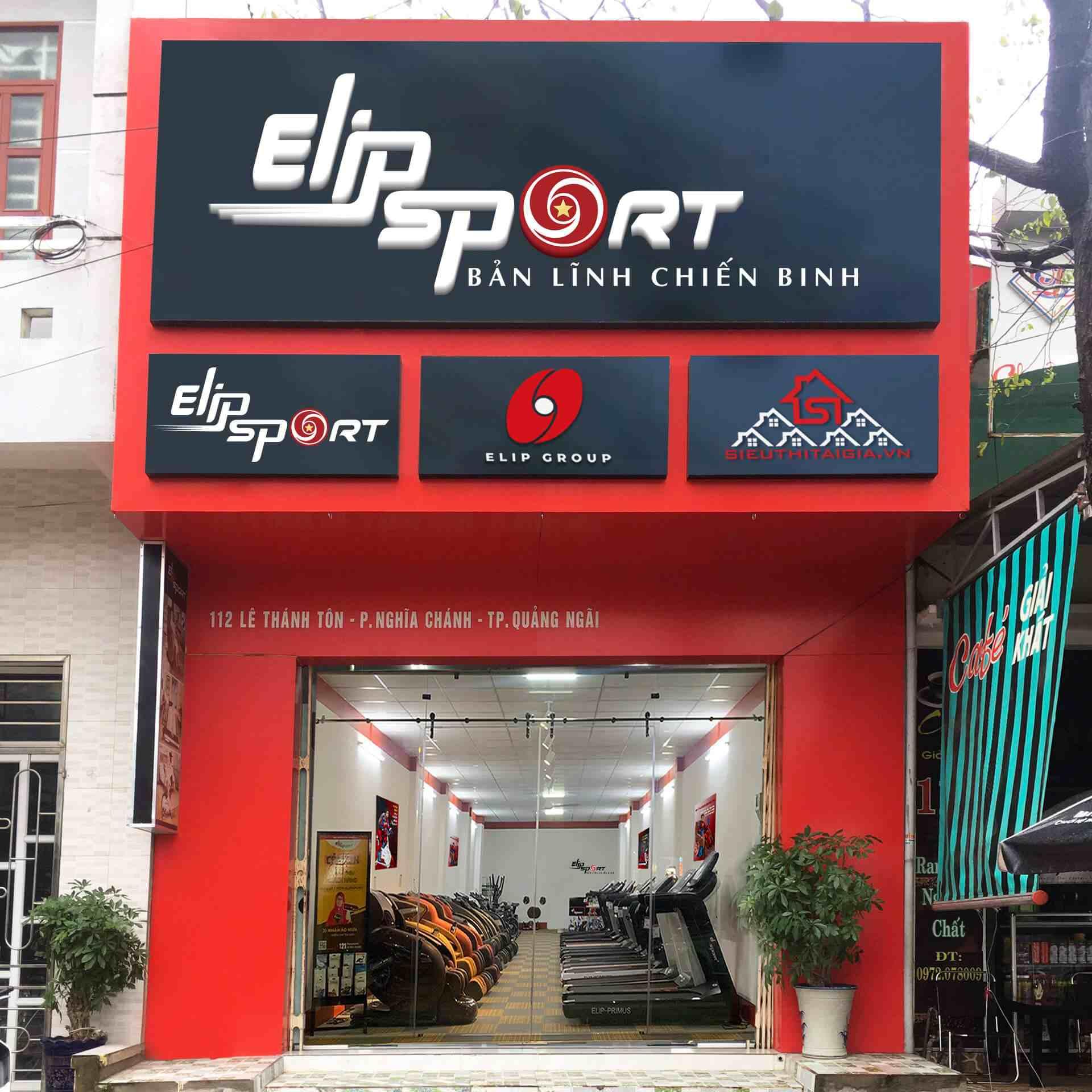 Chi nhánh Elipsport Quảng Ngãi