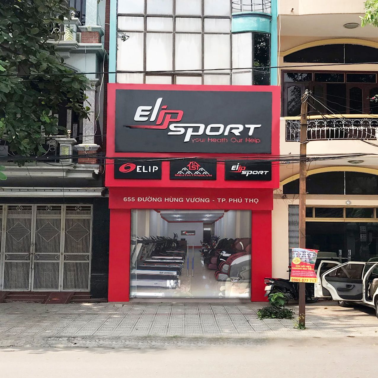 Chi nhánh Elipsport Phú Thọ