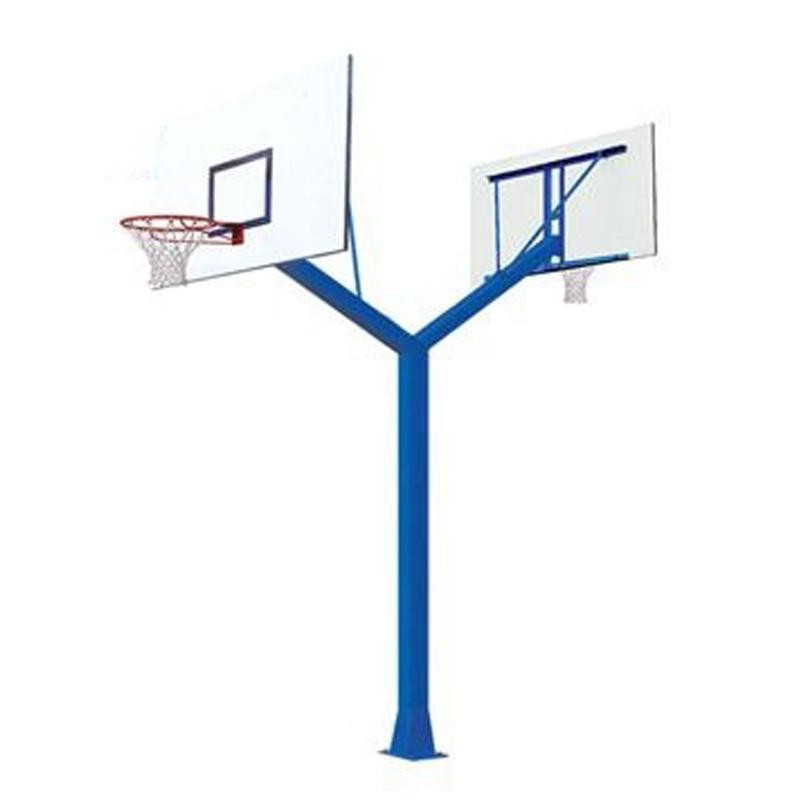 Ảnh sản phẩm Trụ bóng rổ cố định đôi Elip ET01