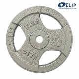 Ảnh sản phẩm Tạ Gang Elip Rubic Phi 28-10Kg