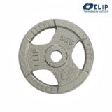 Ảnh sản phẩm Tạ Gang Elip Rubic Phi 50-5Kg