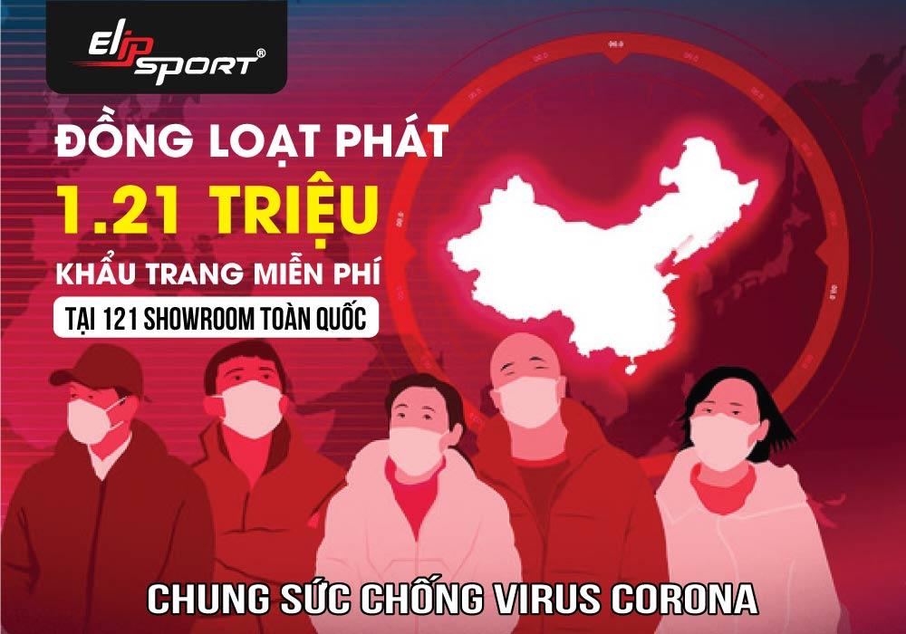 Elipsport Phát Hơn 1 Triệu Khẩu Trang Miễn Phí Ngừa Đại Dịch Virus Corona - ảnh 1