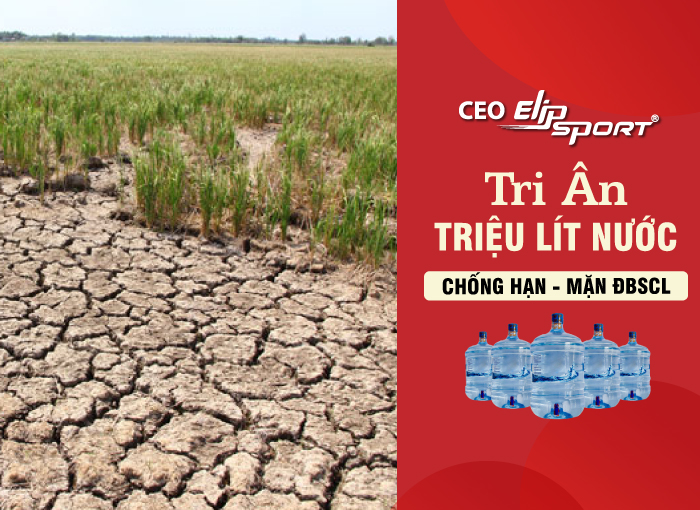 CEO Elipsport tri ân 1 triệu lít nước chống hạn mặn ĐBSCL - ảnh 4