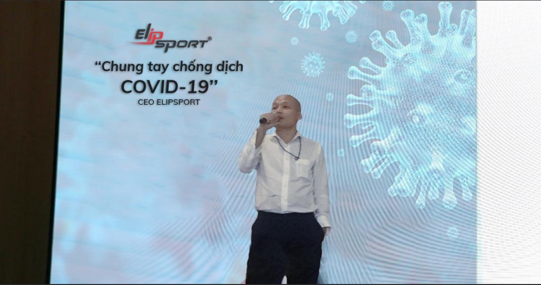 Elipsport trao tặng 2 triệu phần quà chống dịch Covid-19 - ảnh 1