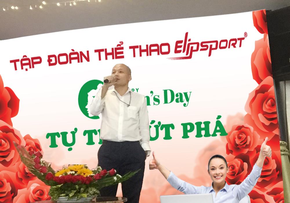 Thông điệp CEO Elipsport gửi tới CB-CNV Nữ ngày 8-3 và thông tin mới Tập đoàn Elipsport - ảnh 1
