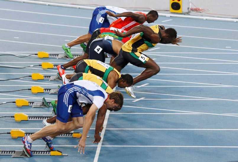 kỹ thuật chạy 100m