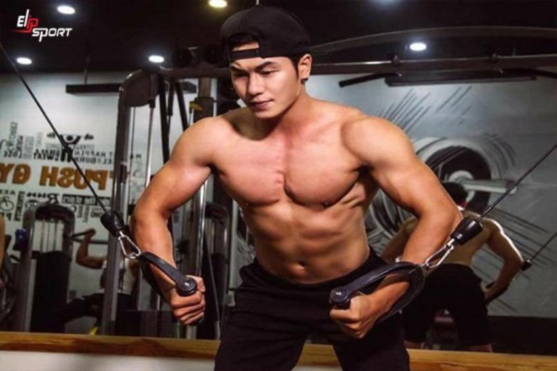 lịch tập gym cho người mới tập nam