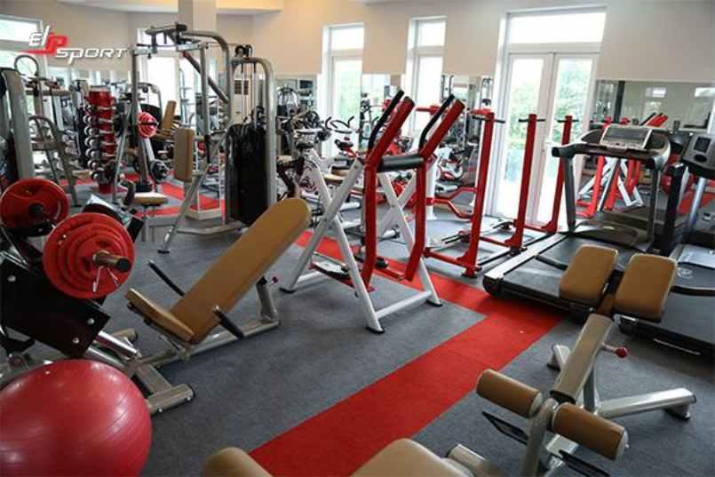 Dụng cụ máy tập gym, thể hình tại Phan Thiết