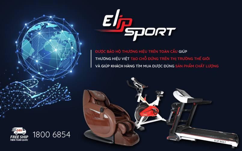 elipsport thương hiệu được bảo hộ toàn cầu