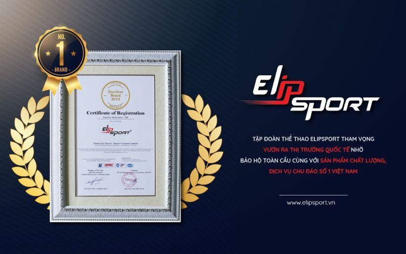 chứng nhận đăng ký của elipsport